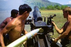Ảnh hiếm về pháo binh Mỹ trong chiến tranh Việt Nam