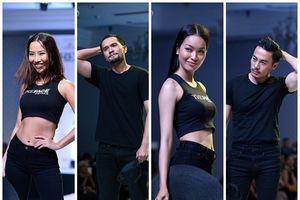 Chỉ mới vào top 36 nhưng thí sinh The Face trình diễn catwalk ra dáng người mẫu chuyên nghiệp lắm rồi