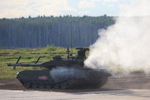 Thực chiến Syria, tăng T-90M Nga tựa hổ thêm cánh