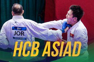 Cận cảnh chấn thương của Minh Phụng khi giành HCB môn karate
