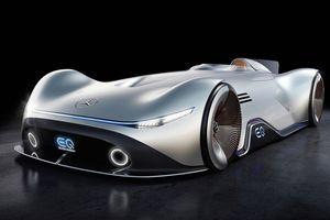 Mũi tên bạc Mercedes EQ tái xuất