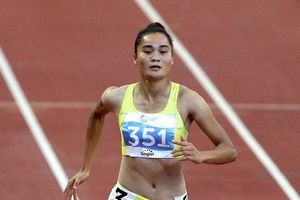 Phá kỉ lục quốc gia, Quách Thị Lan vào chung kết 400m rào nữ