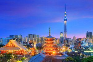 Tokyo là thành phố nổi tiếng nhất thế giới