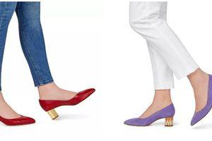 Soi tủ giày hàng hiệu cực chất của Công nương Meghan Markle
