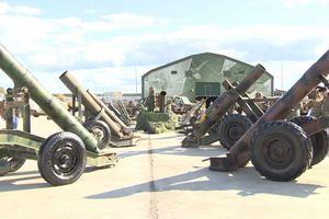 Nga trưng bày kho vũ khí thu được từ chiến trường Syria