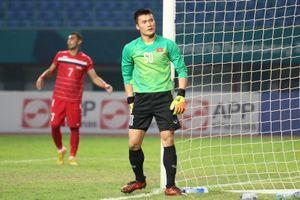 Thủ môn Bùi Tiến Dũng: 'Chúng tôi tự tin hơn hồi đá giải U23 châu Á'