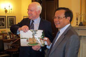 Ông Phạm Quang Nghị nhớ lại cuộc gặp Thượng nghị sỹ John McCain