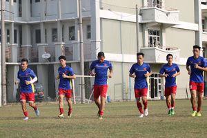 Olympic Việt Nam chỉ có một buổi tập cho trận bán kết với Hàn Quốc 
