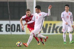 Sau trận thắng Syria, tiền vệ Đức Huy bị BTC kiểm tra doping