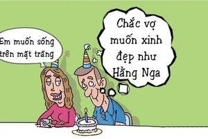 Tối cười: Chồng bất ngờ trước điều ước sinh nhật vợ