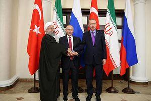 Iran – Nga – Thổ cho Mỹ 'ra rìa' trong vấn đề Syria