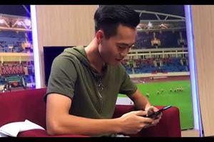 Video Văn Toàn U23 Việt Nam khoe giọng hát siêu mượt mà 'đốn tim' fan