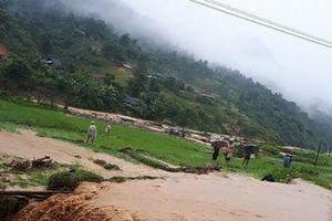 Mưa lớn, Điện Biên ngập lụt nặng