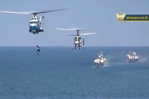 Hải quân Syria duyệt binh hoành tráng kỷ niệm 70 thành lập