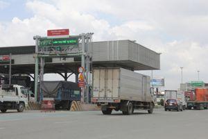 Phân làn thu phí không dừng tại trạm BOT cầu Đồng Nai