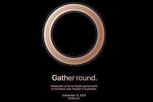 Apple gửi thư mời sự kiện ra mắt iPhone mới ngày 12/9