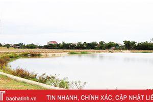 Cơ bản hoàn thành công trình kênh - hồ điều hòa Dự án Phát triển đô thị loại II