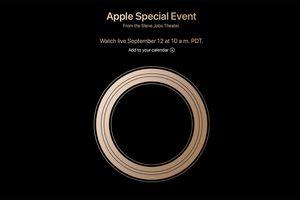 Chính thức: 3 chiếc iPhone mới sẽ được Apple trình làng vào ngày 12/9