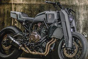 Naked-bike Yamaha MT-07 độ siêu độc, siêu ấn tượng