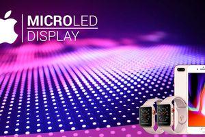 Apple nghiên cứu dùng màn hình microLED cho các sản phẩm của mình