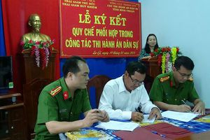 Thi hành án dân sự tỉnh Bình Thuận tăng cường phối hợp liên ngành