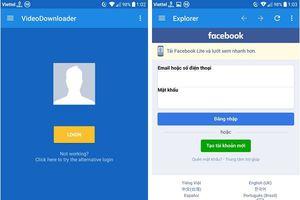 Thủ thuật giúp download video chất lượng cao từ Facebook về smartphone