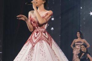 Hương Giang Idol được cổ vũ nồng nhiệt khi hát ở Miss Tiffany Universe 2018