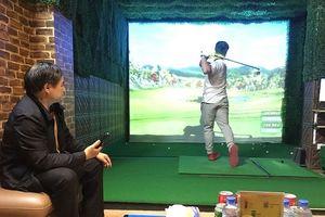 Indoor golf - Mô hình mới cho người yêu Golf
