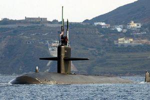 Tàu ngầm Mỹ mang tên lửa Tomahawk tiến gần Địa Trung Hải