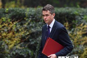 Bộ trưởng Williamson: IS ở Afghanistan là mối đe dọa với nước Anh