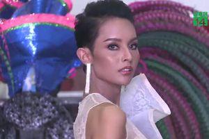 Đánh bại ung thư, cô gái dự thi Hoa hậu chuyển giới Thái Lan