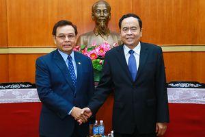 Thúc đẩy quan hệ hợp tác giữa Mặt trận hai nước Việt Nam - Lào