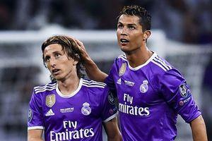Số phiếu chọn Modric giành 'The Best' cao gấp 6 lần Ronaldo