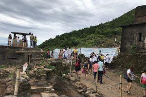 Tìm thấy dấu tích nền móng Hải Vân Quan thời Nguyễn
