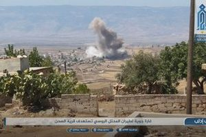 Hứng đòn UAV, Nga - Syria không kích bắt đầu đánh Idlib?
