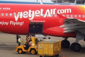 Cổ phiếu Vietjet Air hồi phục dù chứng khoán vẫn đỏ sàn