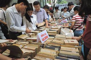 20 tấn sách tại Hội sách cũ tháng 9