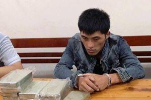 Mang 10 bánh heroin và 1kg ma túy vào Việt Nam bán, nam thanh niên người Lào bị bắt