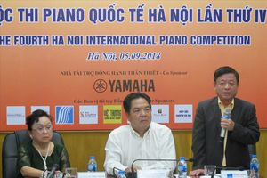 Cuộc thi Piano quốc tế Hà Nội lần thứ IV: Tăng cả số lượng và chất lượng thí sinh