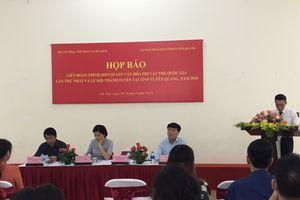 Trình diễn di sản văn hóa phi vật thể quốc gia và Lễ hội Thành Tuyên