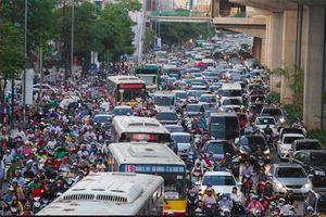 Hà Nội lập đề án thu phí phương tiện vào khu vực trung tâm