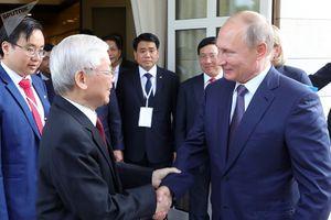 Tổng Bí thư Nguyễn Phú Trọng hội đàm cùng Tổng thống Nga Putin