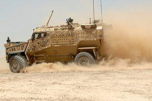 Xe bọc thép Anh 'gục ngã' hàng loạt ở Afghanistan vì nắng nóng