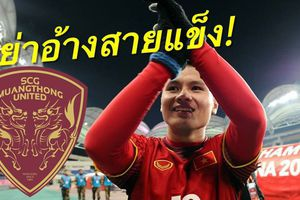 CLB Muangthong United muốn Quang Hải thay thế ngôi sao vừa sang J.League