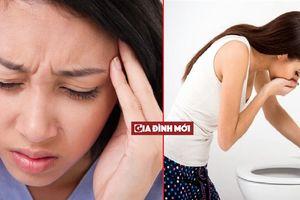 Bỏ túi cách trị đau đầu buồn nôn đơn giản, ai cũng có lúc cần