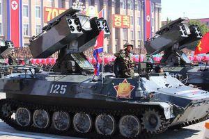 Triều Tiên 'nhịn khoe' ICBM tại lễ diễu binh mừng quốc khánh