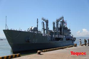 Tàu khu trục Hàn Quốc sắp tới Đà Nẵng