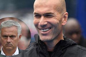 HLV Zidane lại có động thái khiến Mourinho 'mất ăn, mất ngủ'