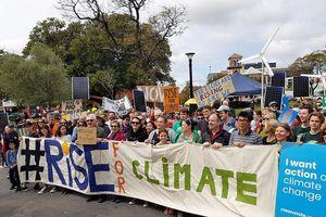 Toàn cầu 'Vùng lên vì khí hậu'