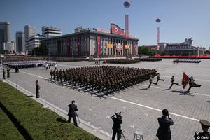 Giới phân tích nói gì về lễ duyệt binh không tên lửa của Triều Tiên?
